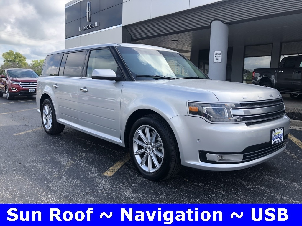 Featured used 2018 Ford Flex Limited SUV for sale in Danville, IL
