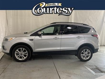 Featured used 2018 Ford Escape SE SUV for sale in Danville, IL
