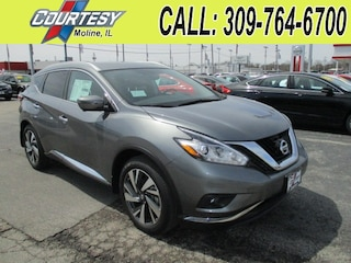 New 2018 Nissan Murano Platinum SUV 5N1AZ2MH4JN112015 For Sale/Lease Moline, IL