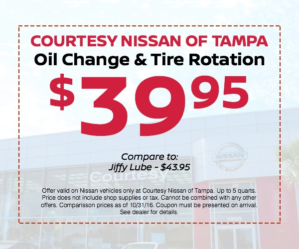 39 95 Oil Change Tire Rotation Nissan Service Offers Tampa