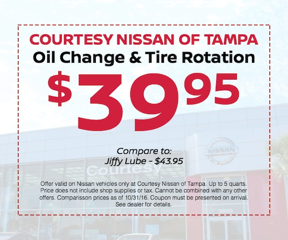 14 95 Oil Change More Nissan Service Offers Tampa Jenkins nissan | your local new nissan and used car dealer in lakeland. 14 95 oil change more nissan