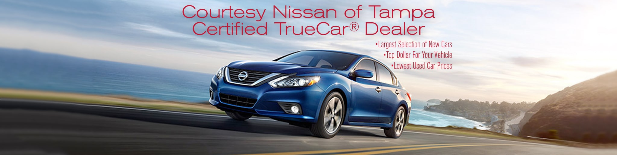 Courtesy Nissan of Tampa   New Nissan dealership in Tampa, FL 33614