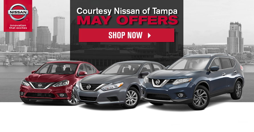 Tampa Nissan May Offers | Courtesy Nissan Social Media Offers