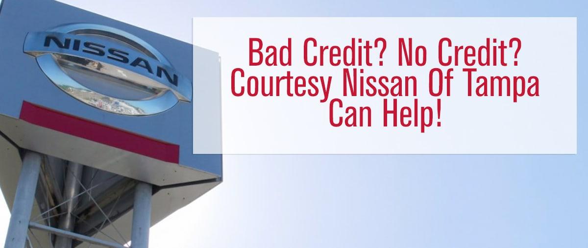 Bad Credit Car Loans Nissan Auto Loans In Tampa Florida