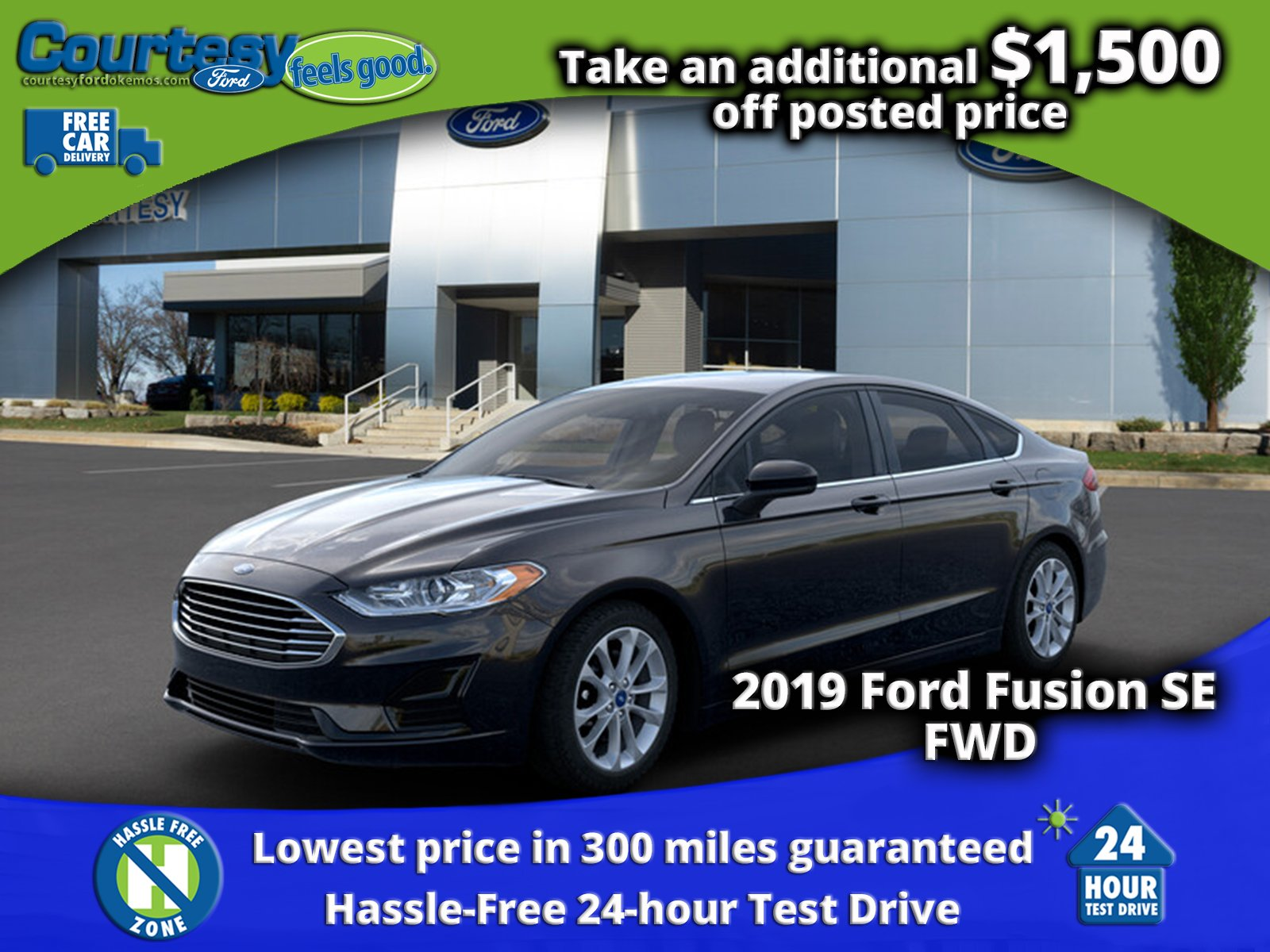 New 2019 Ford Fusion For Sale | Okemos MI | 3FA6P0HD1KR197606