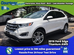 2016 Ford Edge Titanium SUV for sale in Okemos