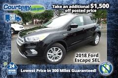 2018 Ford Escape SEL SUV for sale in Okemos