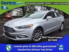 2017 Ford Fusion SE Sedan for sale in Okemos