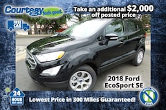 2018 Ford EcoSport SE Crossover for sale in Okemos