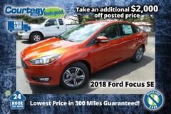 2018 Ford Focus SE Sedan for sale in Okemos