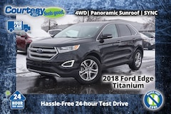 2018 Ford Edge Titanium SUV for sale in Okemos