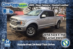 2018 Ford F-150 Lariat Crew Cab Short Bed Truck for sale in Okemos