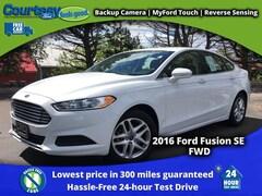 2016 Ford Fusion SE Sedan for sale in Okemos