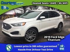 2019 Ford Edge Titanium Crossover for sale in Okemos