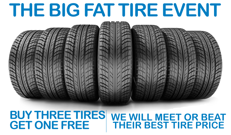 Buy 3 Select Continental Tires Get 1 Free Honda Service Center