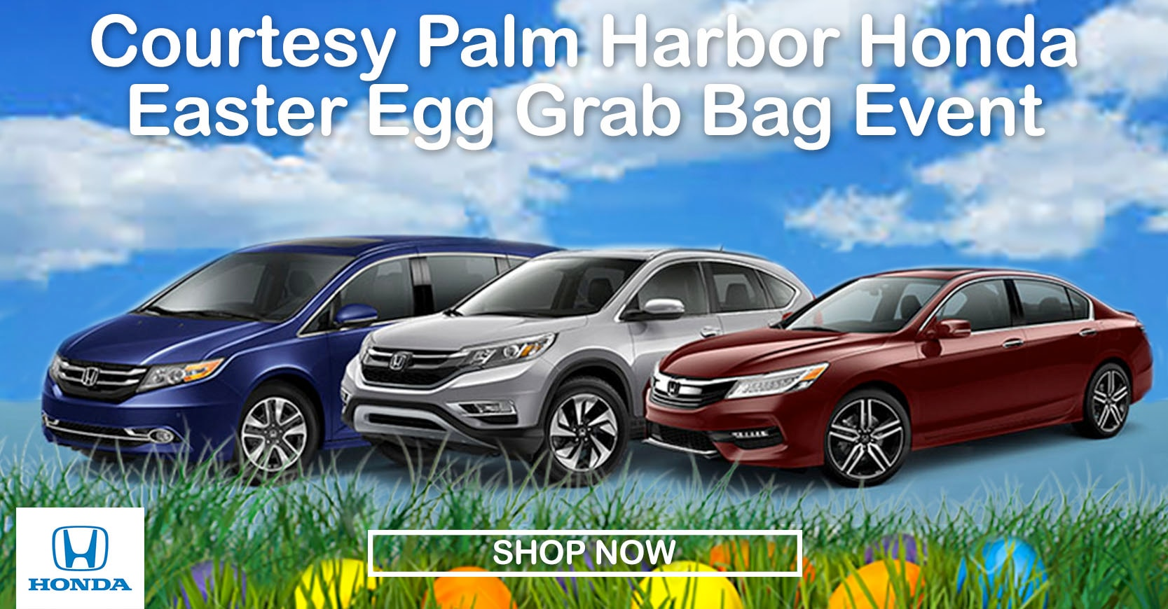 Palm harbor honda easter egg grab bag honda cars for for Honda dealership tampa