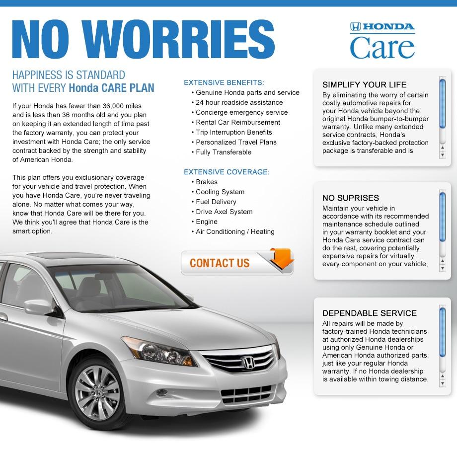 Honda Care Program