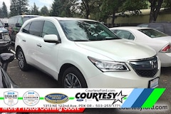 Used 2016 Acura MDX 3.5L w/Technology SUV For Sale in Portland, OR