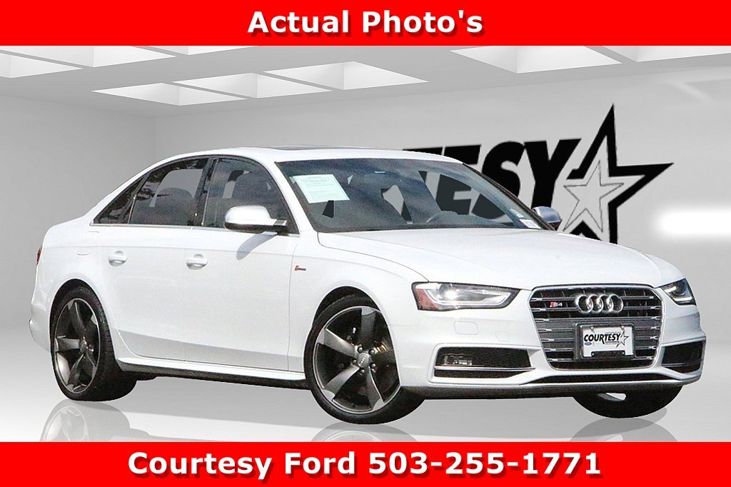 Used 2015 Audi S4 For Sale at Courtesy Lincoln | VIN