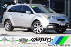 Used 2011 Acura MDX 3.7L Advance Package SUV For Sale in Portland, OR