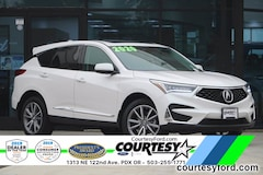 Used 2020 Acura RDX Technology Package SUV For Sale in Portland, OR