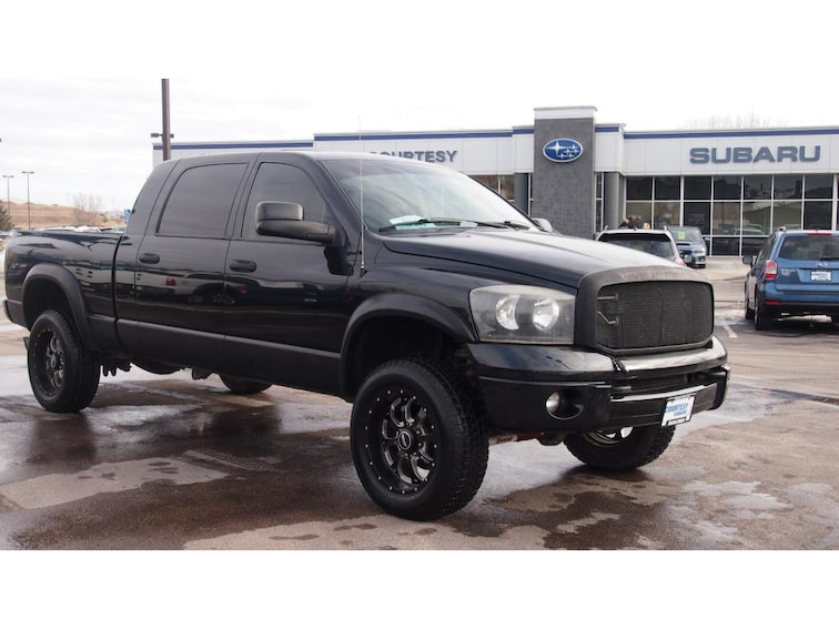Used 2007 Dodge Ram Pickup SLT 4WD Mega Cab 160.5 Rapid City, SD