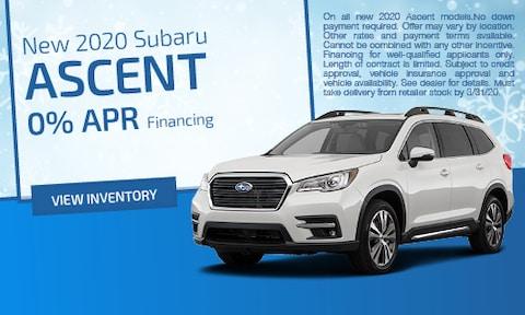March | 2020 Subaru Ascent