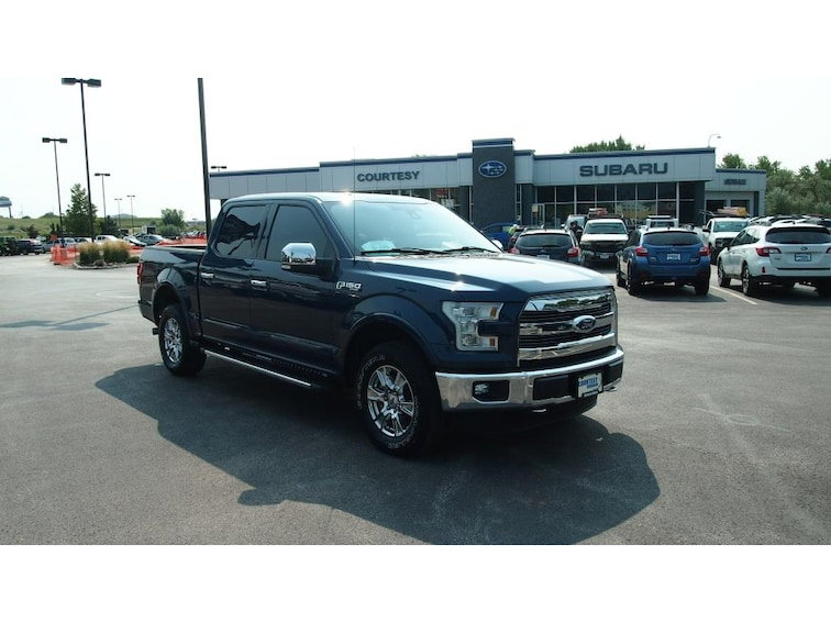 Used 2015 Ford F-150 Lariat Cab; Styleside; Super Crew Short Bed Rapid City, SD