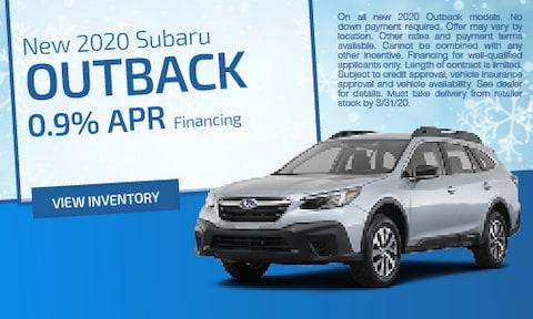 March | 2020 Subaru Outback