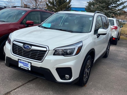 Featured New 2021 Subaru Forester Premium SUV for sale in Rapid City, SD