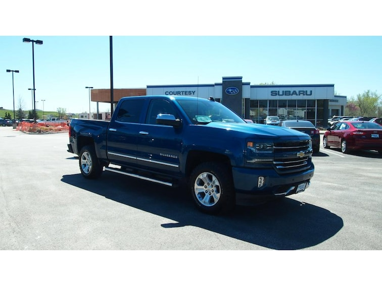 Used 2017 Chevrolet Silverado LTZ 4WD Crew Cab 143.5 Rapid City, SD