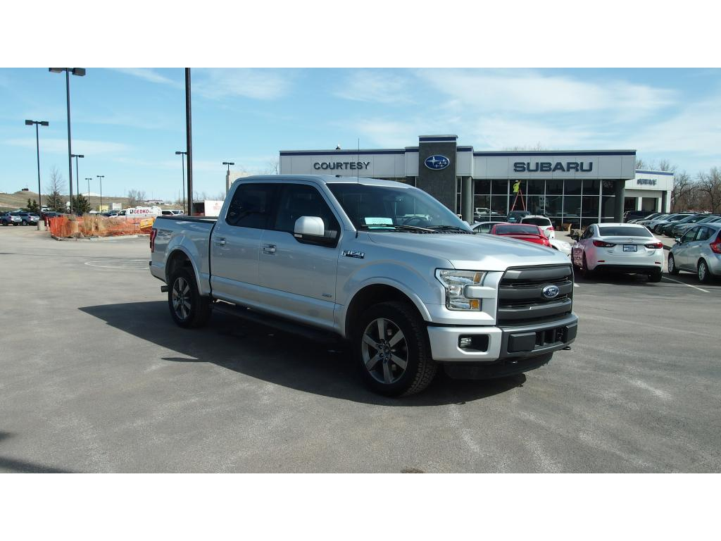 2015 Ford F-150 Lariat Sport Cab; Styleside; Super Crew Short Bed