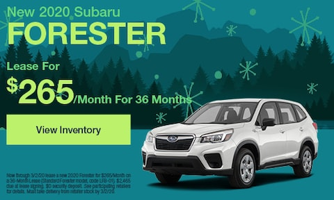 February | 2020 Forester | Lease