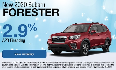 January | 2020 Forester