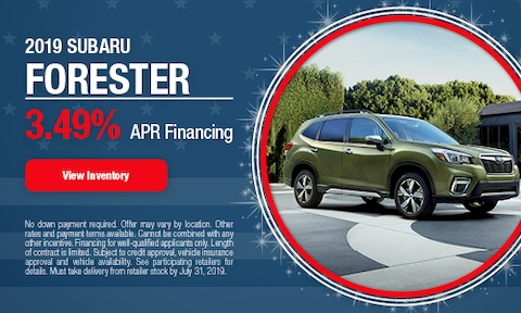 July   2019 Forester