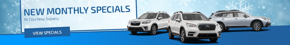 March | New Monthly Specials At Courtesy Subaru