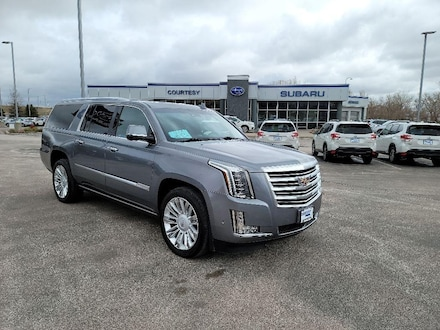 Featured Used 2019 Cadillac Escalade ESV Platinum Sport Utility for Sale in Rapid City, SD