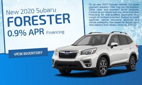 March | 2020 Subaru Forester