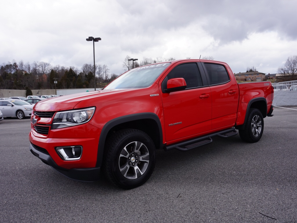 2016 Chevrolet Colorado Z71 4x4 Z71  Crew Cab 5 ft. SB 1GCPTDE18G1245101