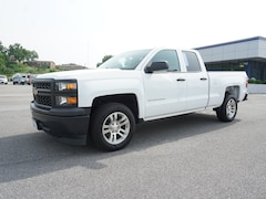 Certified Pre-Owned 2014 Chevrolet Silverado 1500 Work Truck 4x2 Work Truck  Double Cab 6.5 ft. SB w/1WT 1GCRCPEH4EZ252973 Kingsport, TN