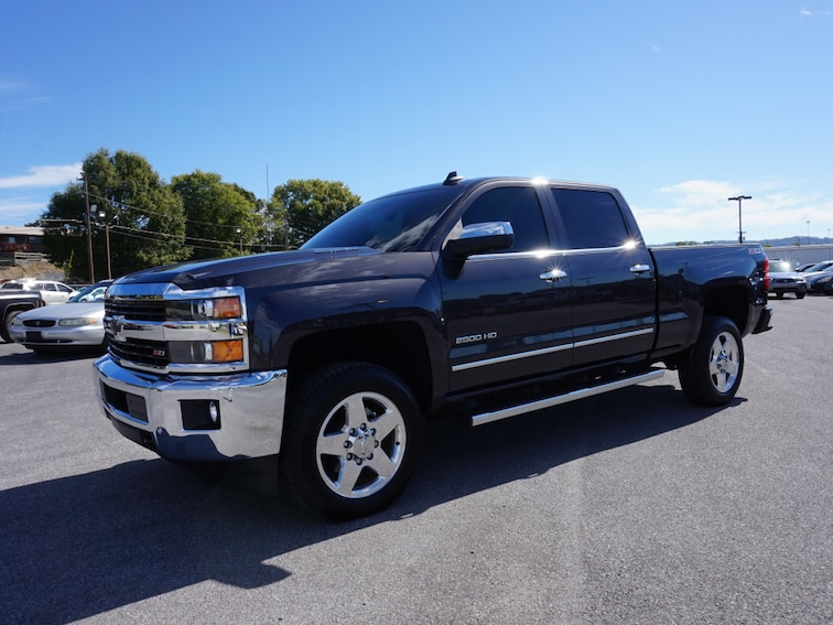 Certified Used 2015 Chevrolet Silverado 2500hd For Sale Kingsport