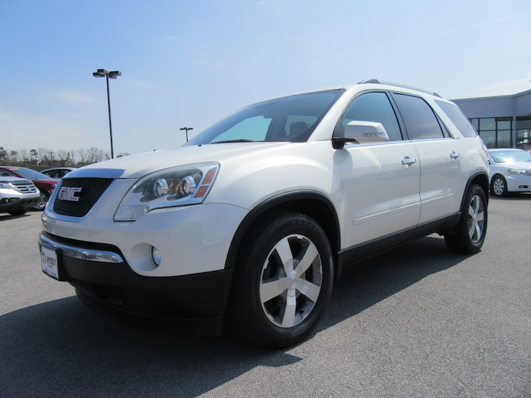 Used 2010 GMC Acadia SLT-1 AWD SLT-1  SUV 1GKLVMED8AJ219273 in Kingsport
