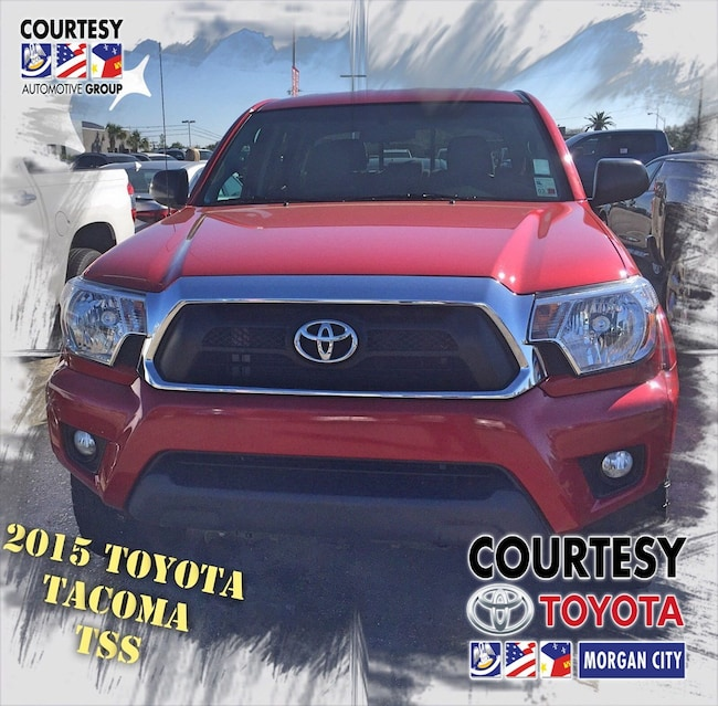 2015 Toyota Tacoma SR5 w/TSS Package Truck Double Cab