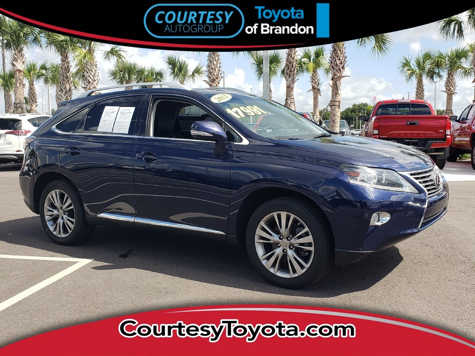 Used 2013 LEXUS RX 350 For Sale at Courtesy Chrysler Jeep