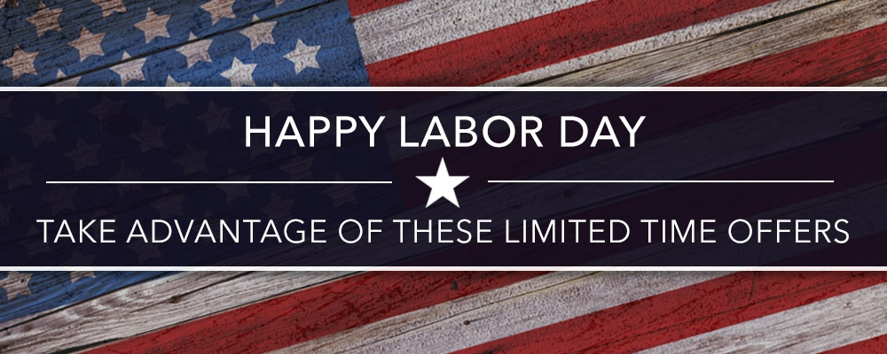 Labor Day 2017 Offers Courtesy Toyota Deals