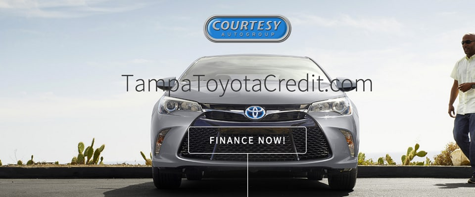 Toyota Vehicle Financing in Tampa