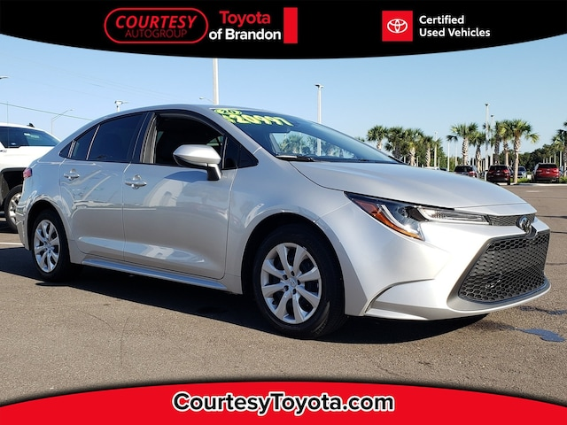Certified Used Toyota >> Certified Used Toyota For Sale Tampa Certified Toyota In Tampa