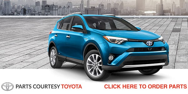 Order Parts From Courtesy Toyota