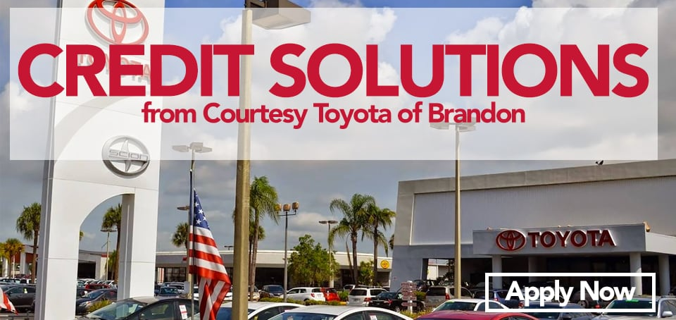 Bad Credit Car Dealerships Near Me >> Bad Credit Car Loans Toyota Auto Loans In Tampa Florida