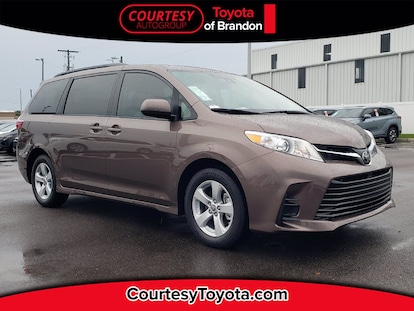 new 2020 toyota sienna le 8 passenger serving brandon fl fl courtesy toyota